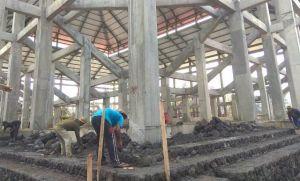 Pembangunan Lanjutan GOR Debes Dilanjutkan dengan Pagu Rp 10 Miliar