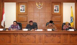 Satria Sambut Kunjungan Tiga DPRD Luar Daerah