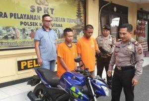 Dua Orang Pelaku Curanmor Ditangkap Saat akan Menyeberang ke Jawa