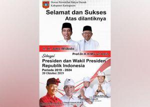 Pimpinan DPRD Ajak Masyarakat Karangasem Doakan Presiden dan Wapres