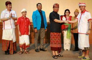 Sekda Adi Arnawa Hadiri Pelantikan Pengurus Daerah Gema Inti Bali