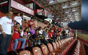 "Bali United Bantai Badak Lampung 3-0 Puaskan ""Difabel Militan"""
