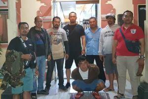 Congkel Jok Motor Berisi Uang di Serangan, Pria Medan Dibekuk