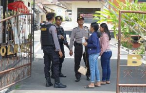Pasca Bom Medan, Polres Klungkung Perketat Penjagaan