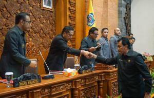 Dewan Setujui Ranperda APBD Kota Denpasar Tahun Anggaran 2020
