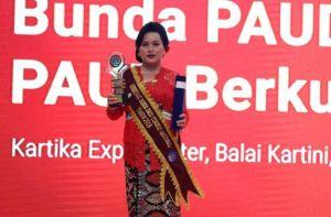 Seniasih Giri Prasta Raih Penghargaan Bunda PAUD Tingkat Nasional