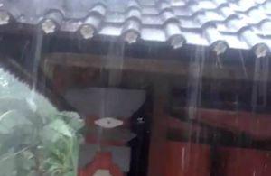 Fenomena Hujan Es Terjadi di Penebel