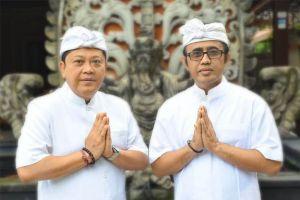 Rai Mantra-Jaya Negara Ucapkan Selamat Galungan dan Kuningan
