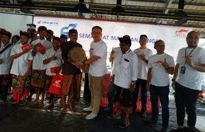 Honda Berikan Bantuan Peralatan Tabuh ke SLBN 3 Denpasar