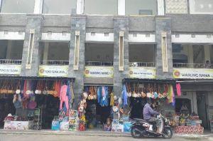 Pedagang Pasar Seni Batur Geopark Enggan Bayar Sewa Kios