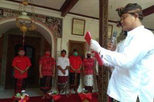 Disaksikan Koster, Dana-Dipa Disokong Puri Kelodan Karangasem