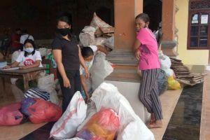 Sehari, Satu Banjar di Blahbatuh Kumpulkan 1,7 Ton Sampah Plastik