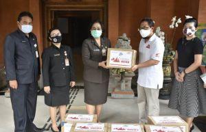 Tekan Covid-19, PT. Astra International Sumbang APD ke Pemkot Denpasar