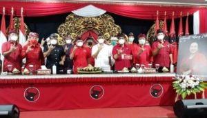 Ini Penjelasan PDIP Bali Soal Acara Potong Tumpeng yang Viral