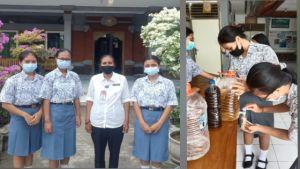 Smanser Produksi Hand Sanitizer Ramah Lingkungan Berbahan Eco Enzim