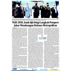 WJIS 2020, bank bjb Iringi Langkah Pemprov Jabar Membangun Rebana Metropolitan