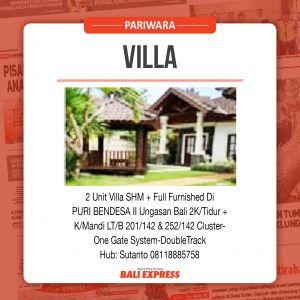 Dijual Villa