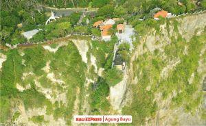 Suasana foto udara kawasan Uluwatu