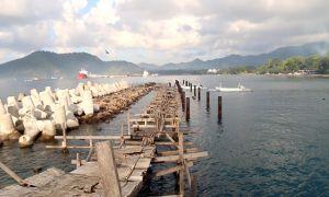 Dermaga Cruise Mangkrak, Breakwater jadi Tempat Pemancing