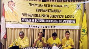 Kompak Tolak SK Plt, Kader Beringin Badung Siap Geruduk Golkar Bali