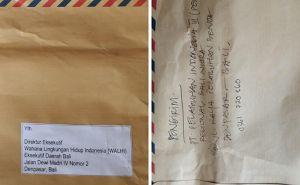 Walhi Bali Resmi Kembalikan Surat Misterius ke Kantor Pelindo