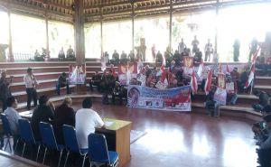 Dukung Revisi Undang-Undang KPK, Puluhan Massa Geruduk DPRD Bali
