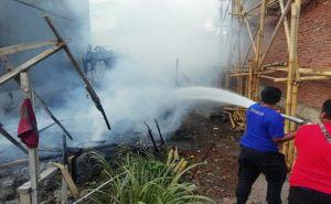 Rumah Bedeng di Proyek Perumahan Terbakar, Korban Rugi Besar