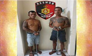 Viral di Medsos, Duo Pria Tatoan Keroyok Pasangan Kekasih Ditangkap