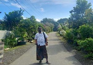 Larang Warga di Luar Desa Pulkam, Sembako Dipenuhi Lewat Posko
