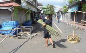 Pedagang Positif Covid-19, Askes Jalan Gunung Kawi Masih Dibatasi
