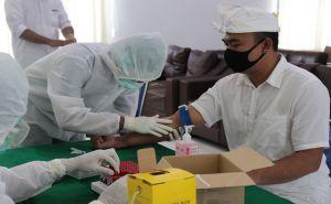 Rapid Test Massal di Kejari Klungkung, Pekerja Taman Reaktif