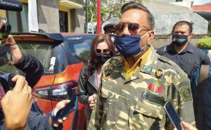 Datangi Polda Bali, Ayah JRX: Kami Keluarga Demokrasi