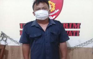 Curi Tabung Melon di TKP Berbeda, Residivis Pencuri di Gianyar Diciduk