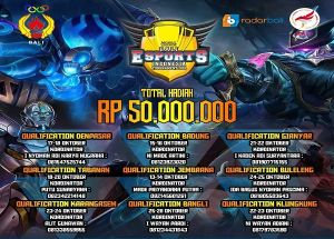 Jaring Atlet E-Sport, Buka Pendaftaran di 9 Kabupaten/Kota di Bali