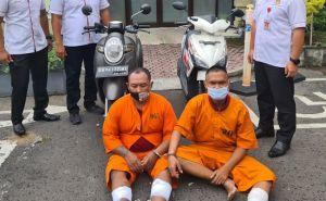 Beraksi di Denpasar dan Badung, Dua Pelaku Curanmor Didor di Gilimanuk