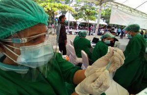 Vaksinasi Ditarget Tuntas Juni, Tabanan Butuh 630 Ribu Vial Vaksin
