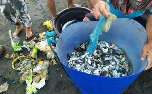Niatnya Menjaring Ikan, Nelayan Jembrana Dapat Tumpukan Sampah Plastik