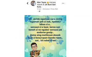 Sebut Jerink Anj*ng, Anggota Kelompok Ahli Gubenur Dihujat Netizen