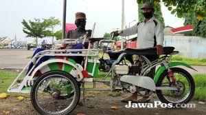 Polisi Hanya Izinkan Betor Beroperasi di Muncar