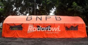 Harga Tenda BNPB di Kisaran Rp 30 Juta–Rp 50 Juta Per Unit