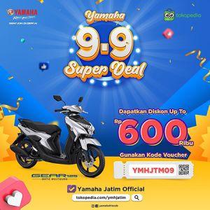 Diskon Super 9.9 Dari Yamaha Jatim!