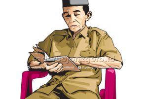 Satu PNS Pensiun Dini Ikut Pilkades Blongsong