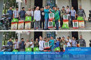 Relawan, Semprot Disinfektan ke Rumah Penduduk, Fasum, Musala & Masjid