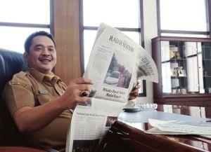 Kesan Para Pembaca Setia Jawa Pos Radar Jombang (49); Wabup Sumrambah