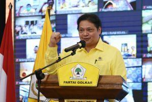 Songsong Pemilu 2024, Airlangga Pimpin Konsolidasi Partai Golkar