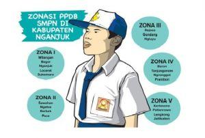 PPDB SMP Dibagi Lima Zona