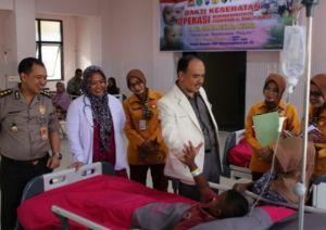 Rumah Sakit Bhayangkara Kediri Peringati HUT Bhayangkara ke-73