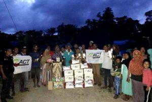 ACT Beri Bantuan ke Ratusan KK Korban Gempa Maluku Utara