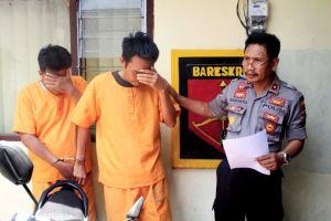 Polisi Bekuk Dua Penadah Motor Curian dari Pesantren