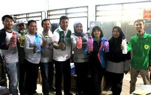 Dinas LHKP Kota Kediri Berkampanye Kurangi Sampah Plastik di Kantor